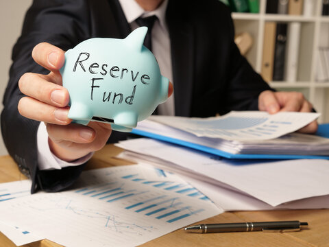 Reserve Fund is shown on the conceptual business photo