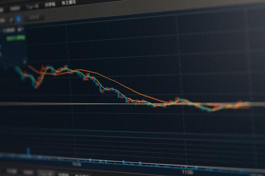 株価 安値 下げ相場 値下がり 損失 利益 納税 税金 平均線 トレード