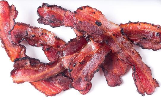 crispy thick cut smoked bacon