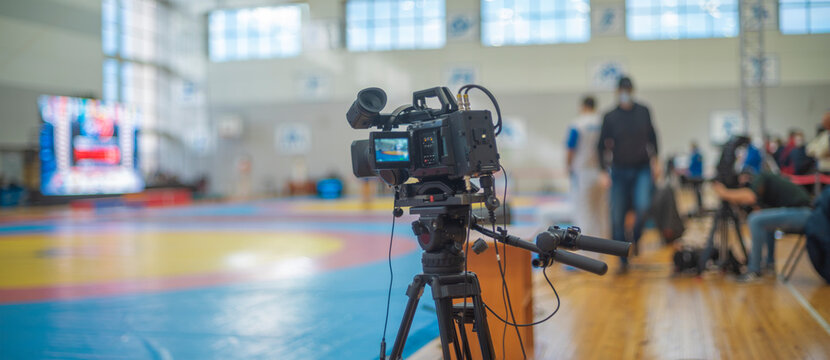 Online broadcast of sports