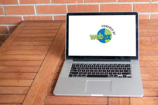 webex logo editorial illustrative