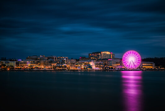 Nightime at the National Harbor