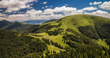 Ploska mountain in Velka Fatra mountains Slovakia