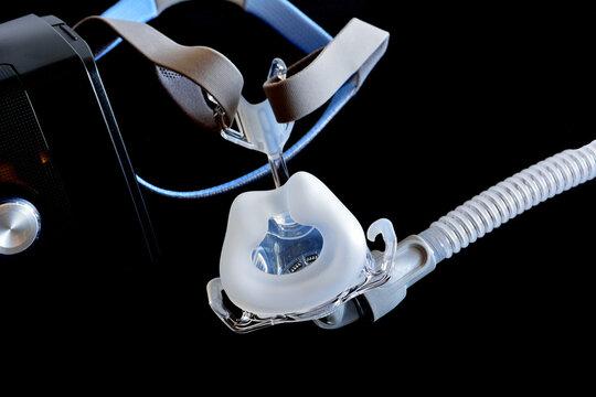 睡眠時無呼吸症候群の医療器具C-PAP