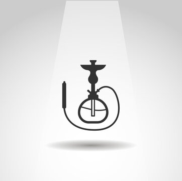 Shisha vector icon, Shisha simple isolated icon