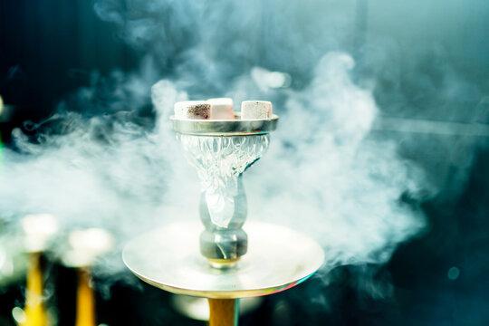 smoking charcoal stones for shisha
