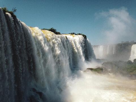 waterfall in iguazu falls
