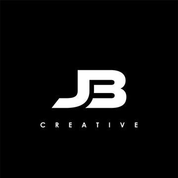 JB Letter Initial Logo Design Template Vector Illustration