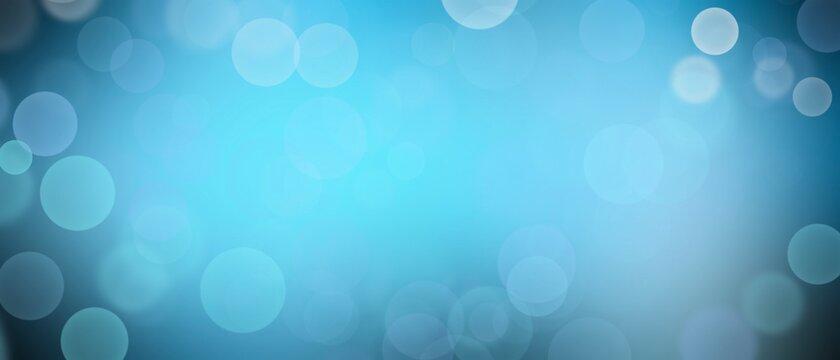 Blue blured background.