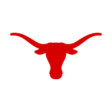 Texas buffalo icon vector logo design creative idea