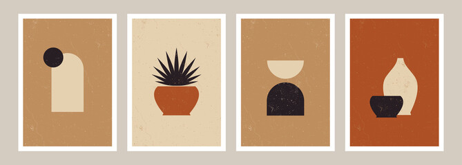 Abstract Geometric Art Prints Collection