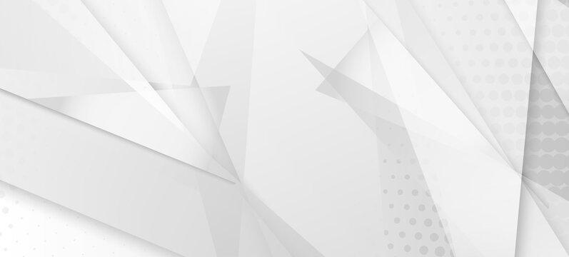 Halftone Modern Gray Vector Background. Grain Pattern. Halftone