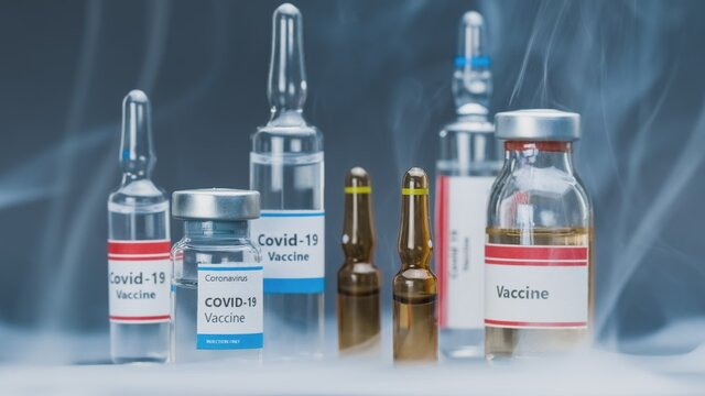 Vaccine for lethal virus in small bottles