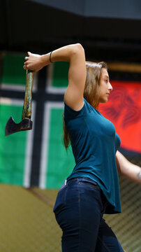 Axe Throwing Female