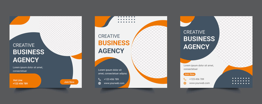 Digital Marketing Agency Social Media Web Banner post Template Design