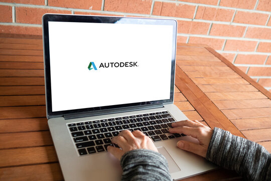 Autodesk logo editorial illustrative