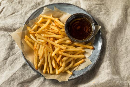 Homemade Malt Vinegar French Fries