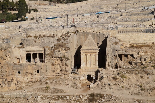 Jerusalem: the Tomb of Zechariah in the Kidron valley
