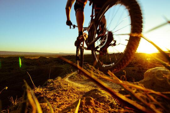 Mountain Biking in Colorado.
