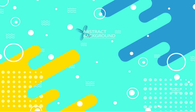 Abstract background screen design with blue color theme. Water waves. Modern and simple design