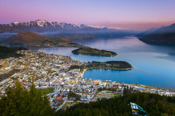 Queenstown, Town in the South Island, New Zealand