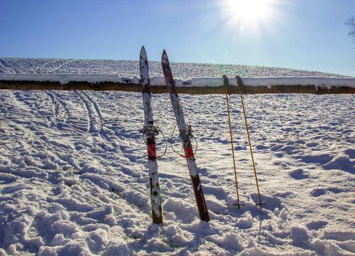Ein perfekter Tag zum Ski fahren