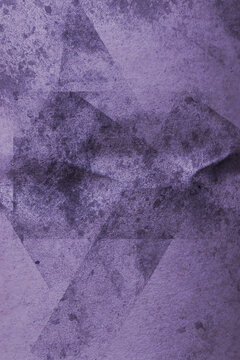 abstract weird lilac background with grunge effect, abstract pattern on crumbled paper