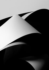 Abstract concept architectural, dark background