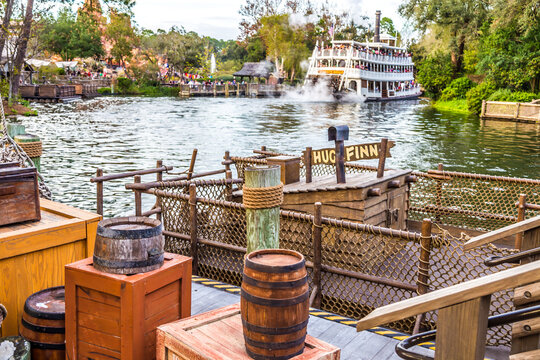 Steamboat in Disney!