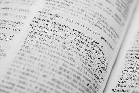 """英和辞典""""marry"""""""