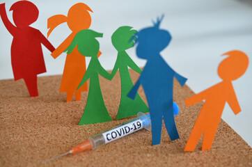 Fototapeta Program szczepień przeciw COVID-19 obraz