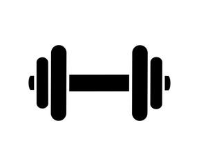 Fototapeta Dumbbell icon, fitness tool - stock vector obraz