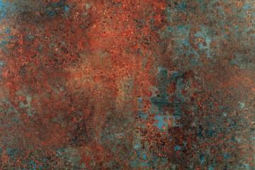 Rusty metal background.