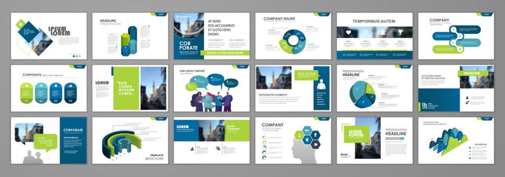 Presentation templates design