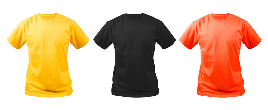 Mock up t-shirt collection