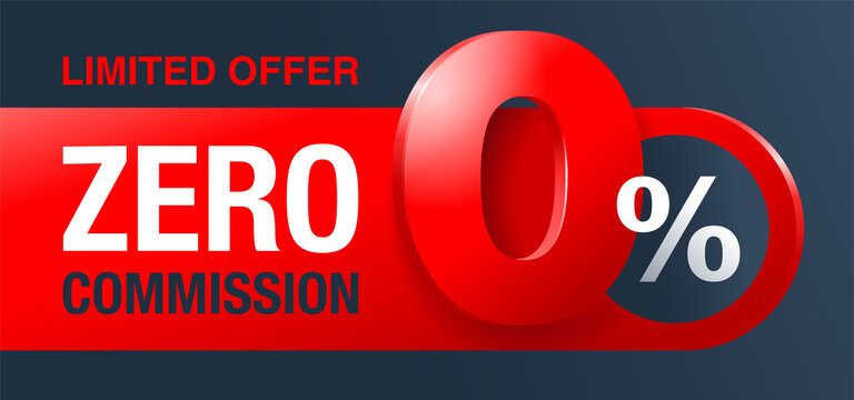 zero commission special offer template