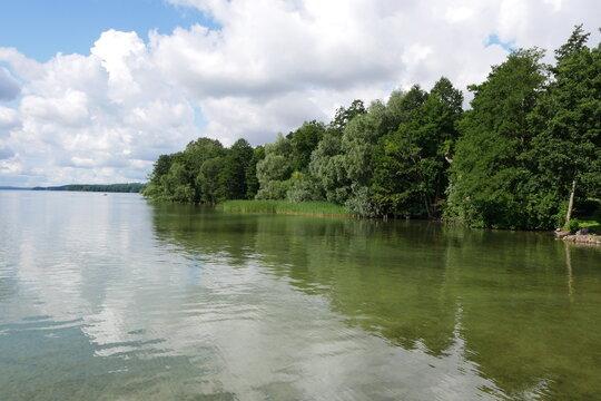 Naturoase Tollensesee in Neubrandenburg in der Mecklenburgischen Seenplatte in Mecklenburg-Vorpommern