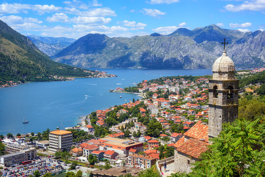 Kotor Old town and the Kotor bay, Montenegro
