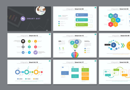 Infographic Smart Art Presentation Layout