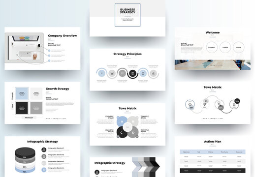 Clean Creative Presentation Layout
