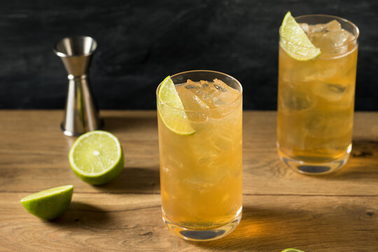 Boozy Refreshing Moscow Mule Cocktail