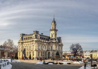 Fototapeta Nowy Sącz, rynek, ratusz, centrum obraz