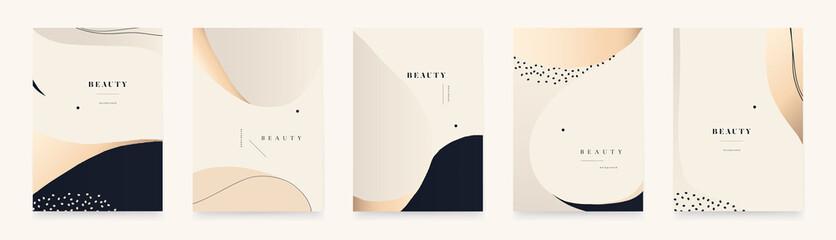 Modern elegant abstract universal background templates. Minimalist aesthetic.