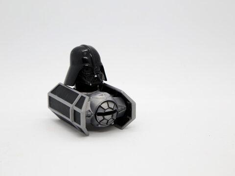 Darth Vader. Anakin Skywalker. Stars wars.  Dark side. Spacecraft.