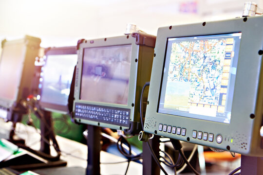Rugged computer tablets for military and industry