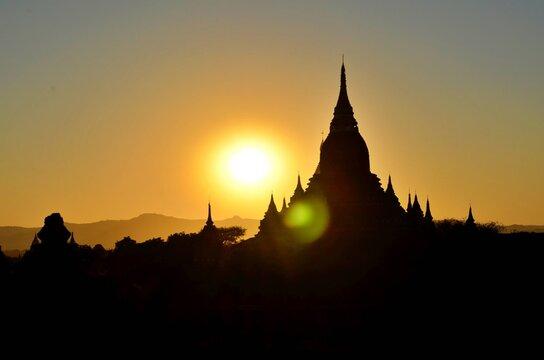 ミャンマー3 バガン遺跡の仏塔