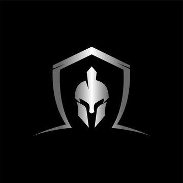 metallic spartan with shield logo