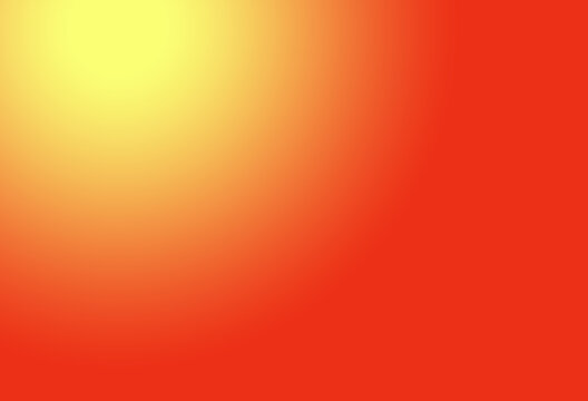 hot red and yellow sunrise gradient with abstract elements