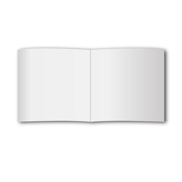 book mockup on gray background