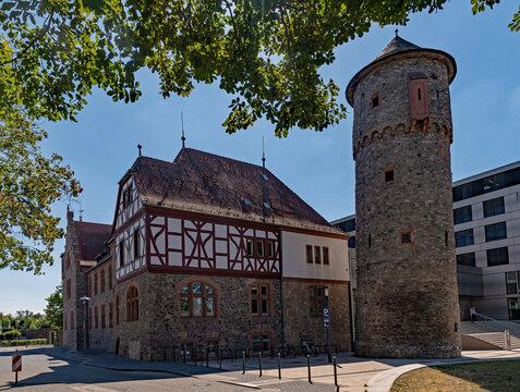 Altstadt von Dieburg in Hessen, Deutschland
